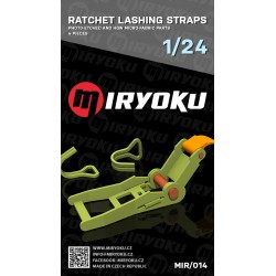 Ratchet Lashing Straps 1/24