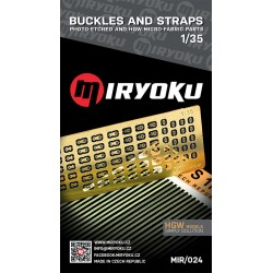 Buckles and straps 1mm 1/35...