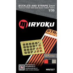 Buckles and straps 2mm 1/35...