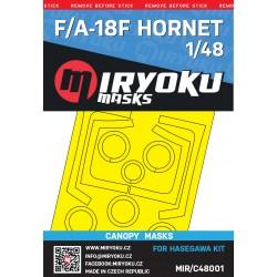F/A-18F HORNET -  Masks -...