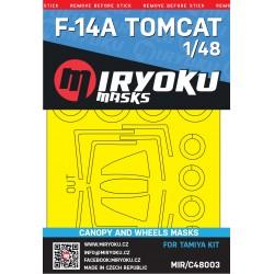 F-14A TOMCAT -  Masks -...