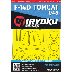 F-14D TOMCAT -  Masks -...