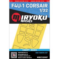 F4U-1 CORSAIR  -  Masks -...