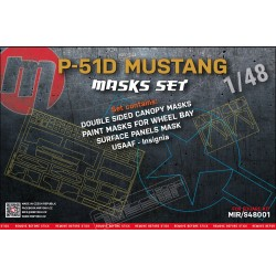 P-51D Mustang - MASKS SET -...